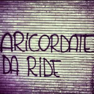 aricordate da ride